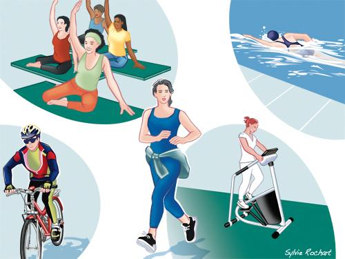 Perdre du ventre homme activité physique
