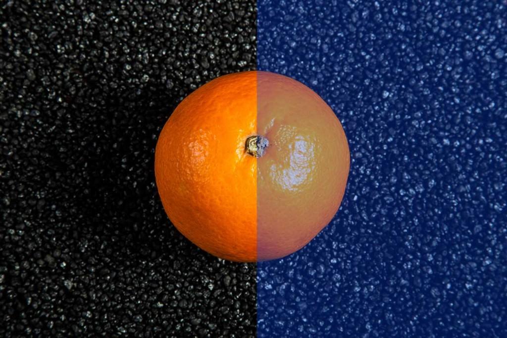 orange-bleue
