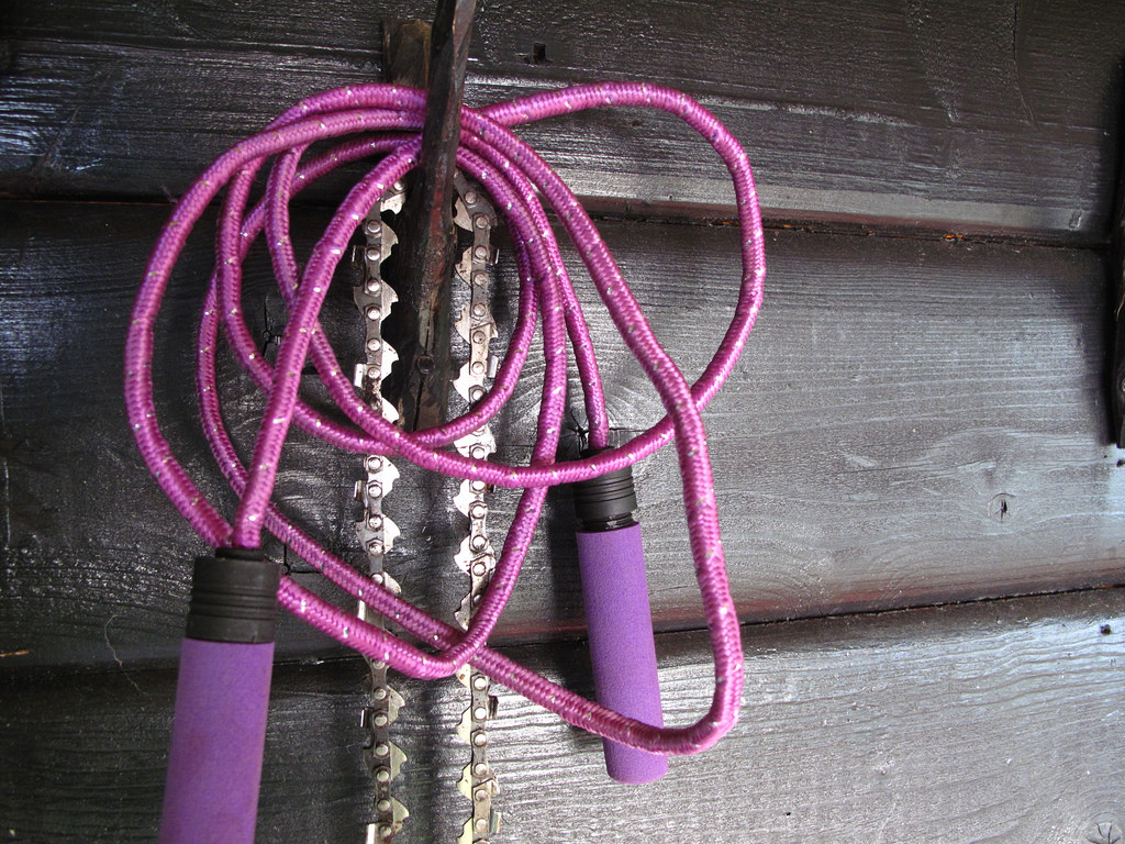 Maigrir avec la corde à sauter